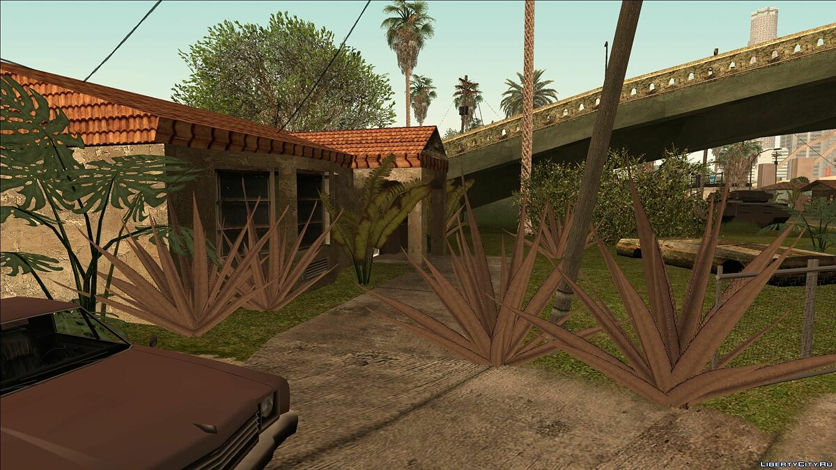 Texture mod BSOR: Classic Weeds Demo 0.01 + Adapt for SRt3 for GTA San Andreas