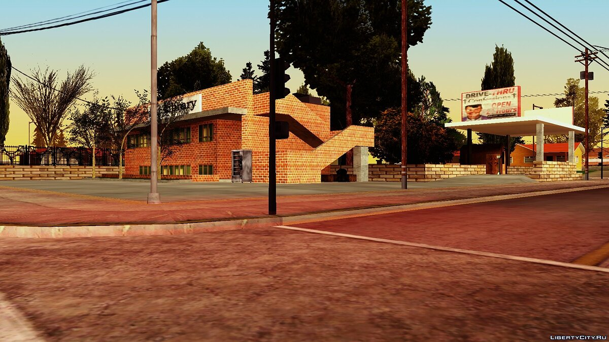 Texture mod [LQ] Palomino Creek Re-Texture by Bloodrose for GTA San Andreas