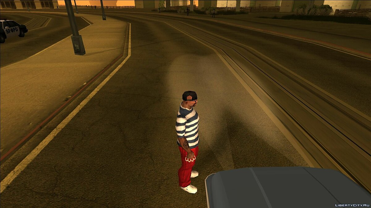Texture mod VC Particles for GTA San Andreas