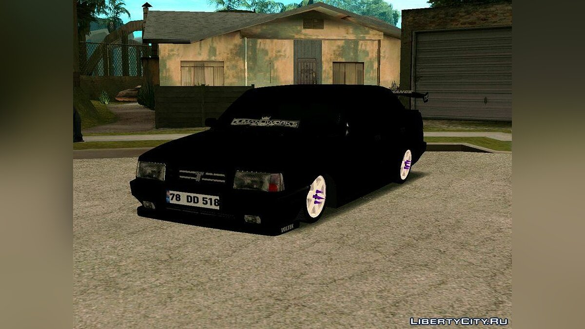 Tofas car Tofaş Doğan slx v2 for GTA San Andreas
