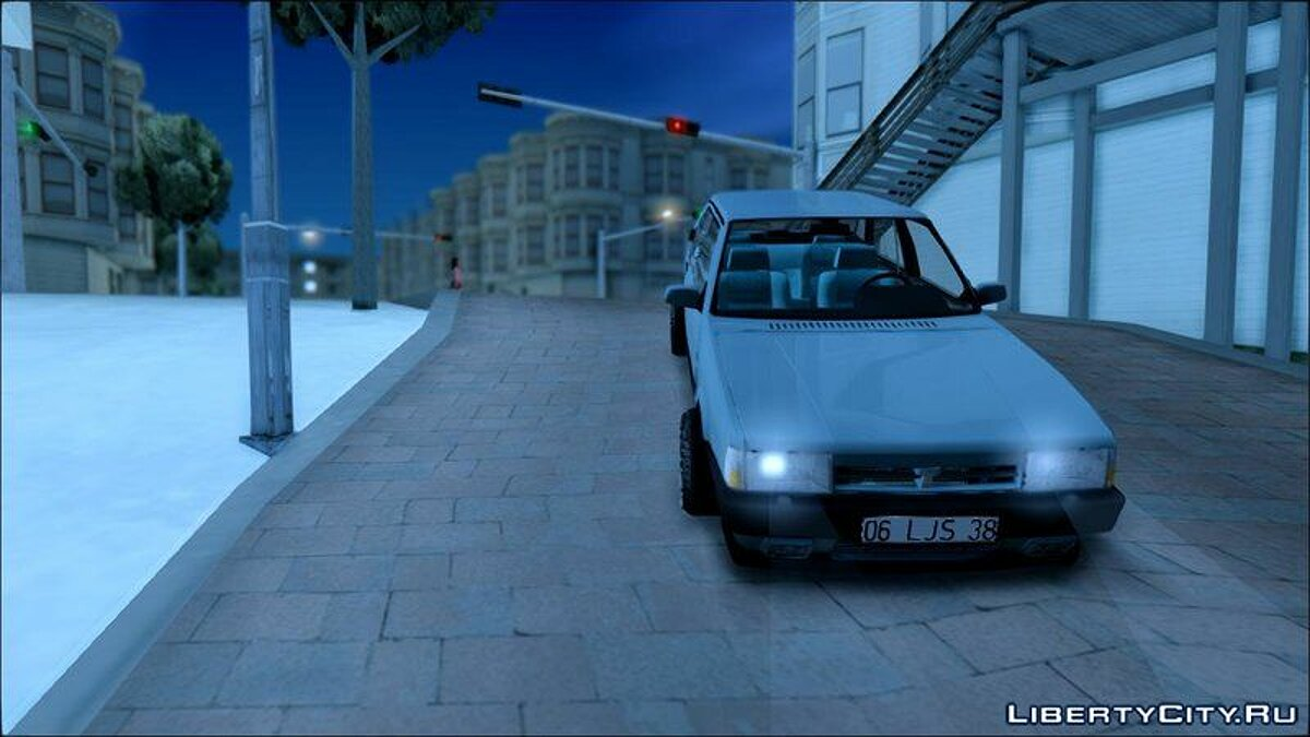 Tofas car Dogan SLX [Klasik] for GTA San Andreas