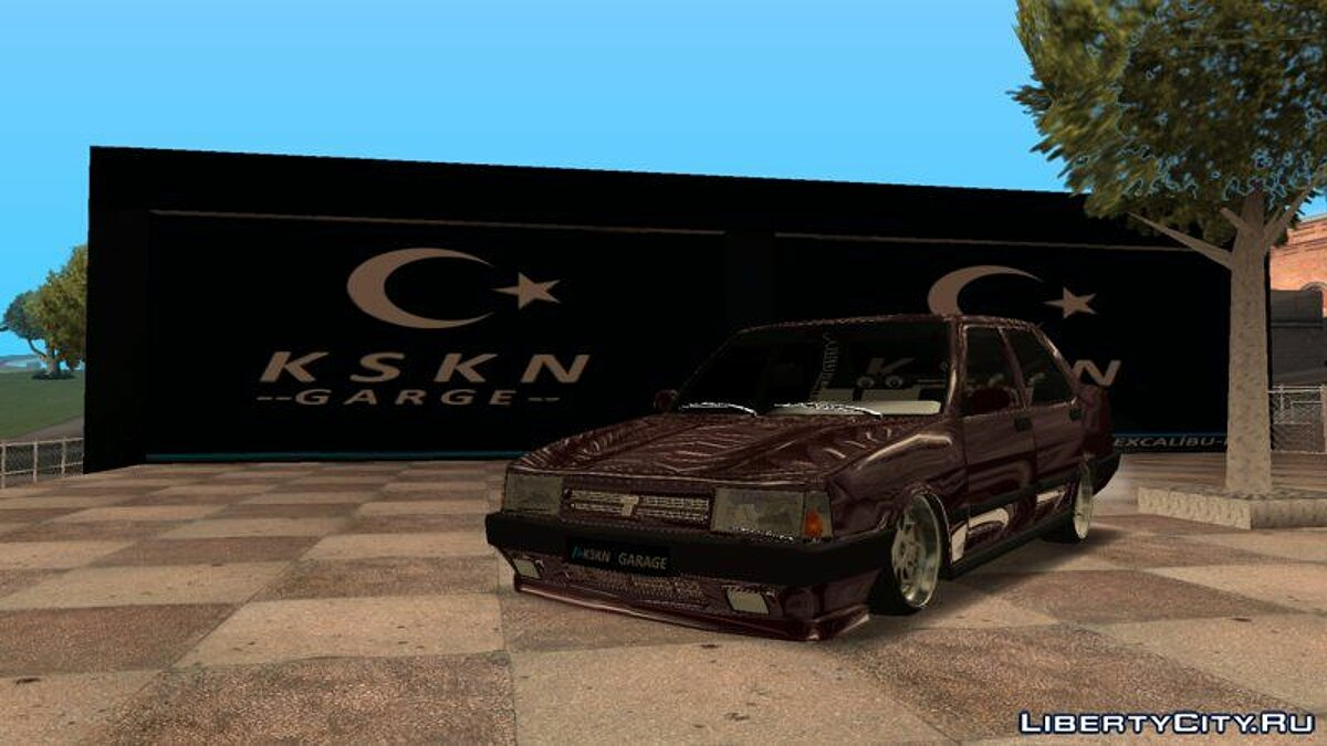Tofas car Tofaşk for GTA San Andreas