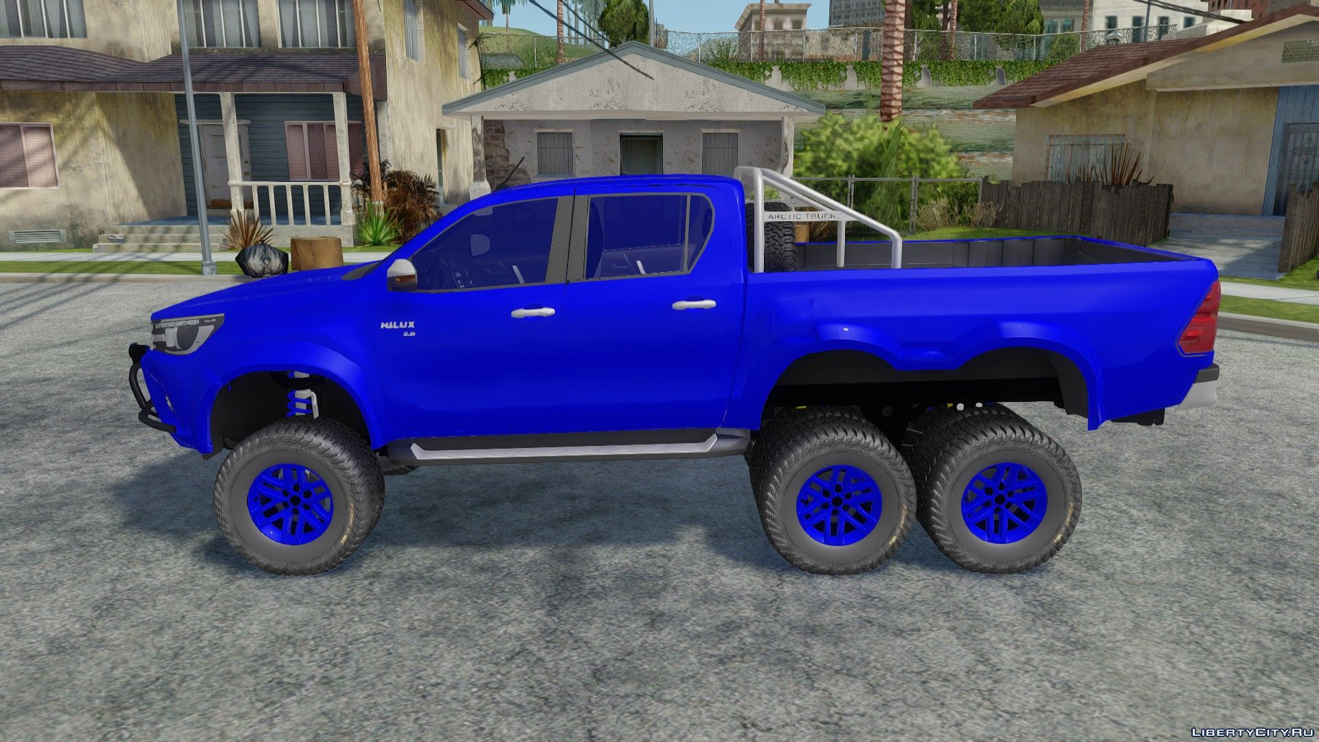 Toyota Hilux Arctic Trucks 6x6 For Gta San Andreas