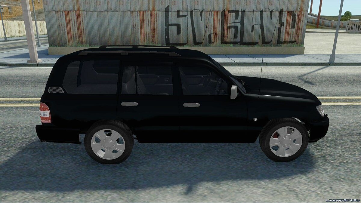 Toyota car Toyota Land Cruiser 100 for GTA San Andreas