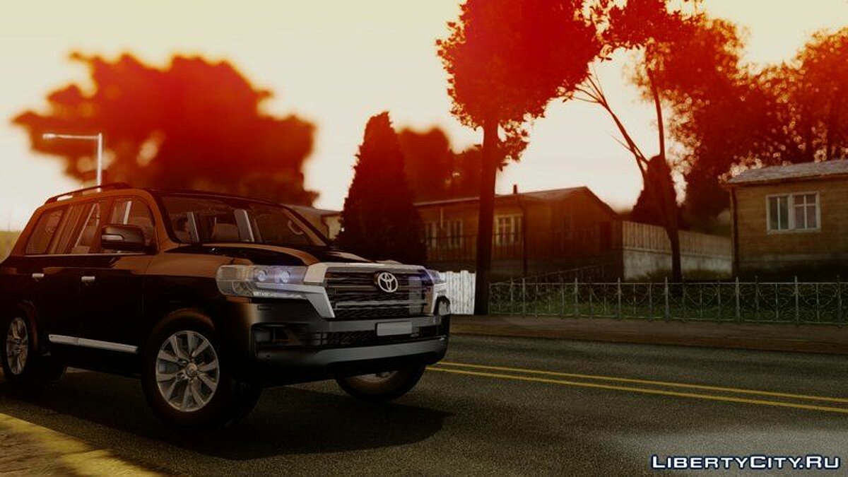 Toyota car Toyota Land Cruiser 200 2016 for GTA San Andreas