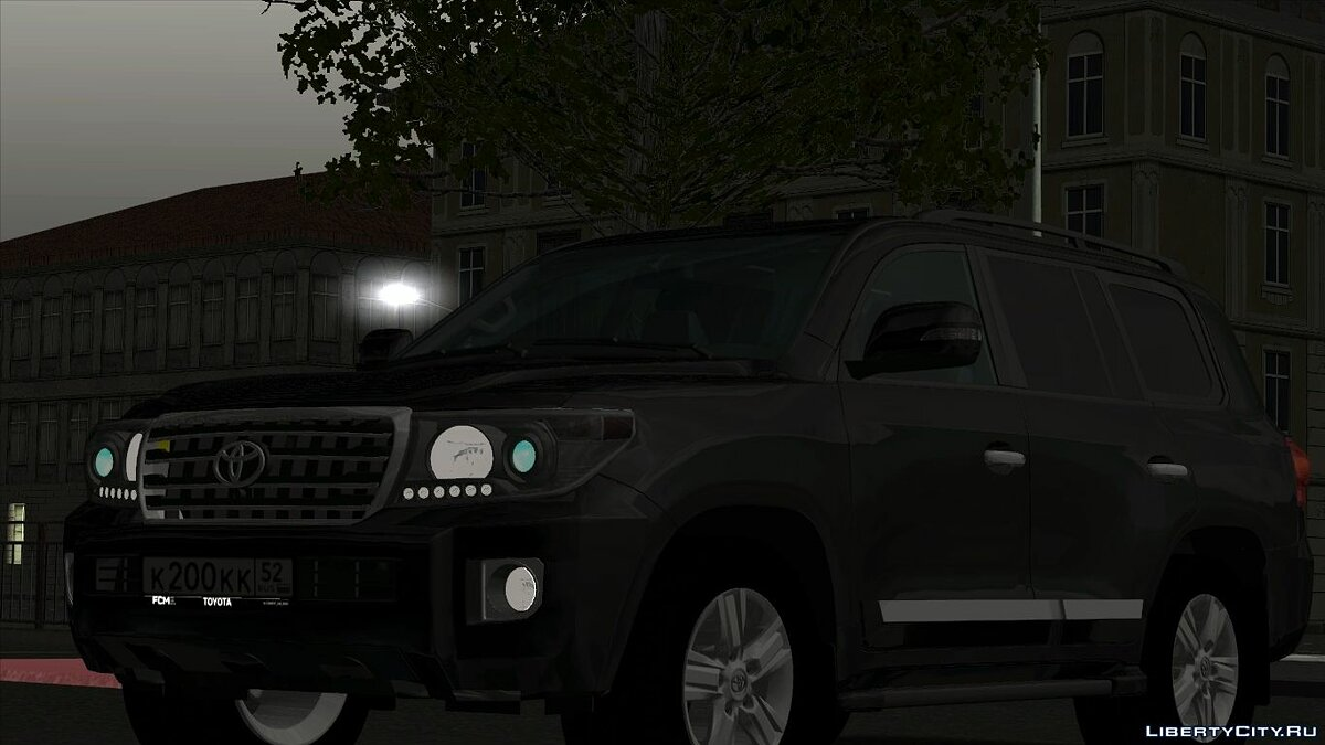 Toyota car Toyota Land Cruiser 200 for GTA San Andreas