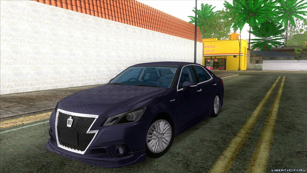 Toyota car Toyota Crown 2016 for GTA San Andreas