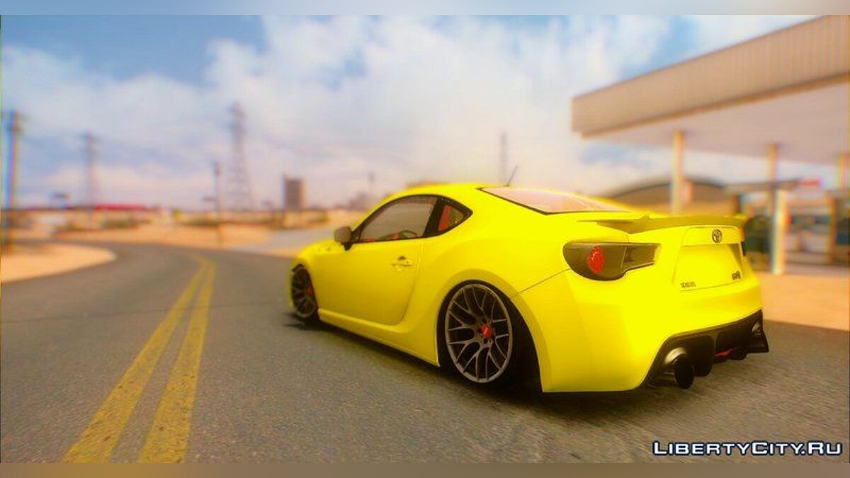 Toyota car Toyota GT86 Stance 2015 for GTA San Andreas
