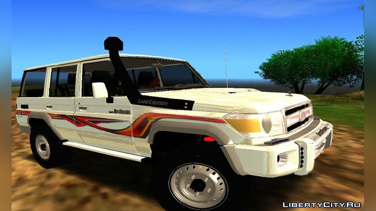 Toyota Land Cruiser Lc76 for GTA San Andreas