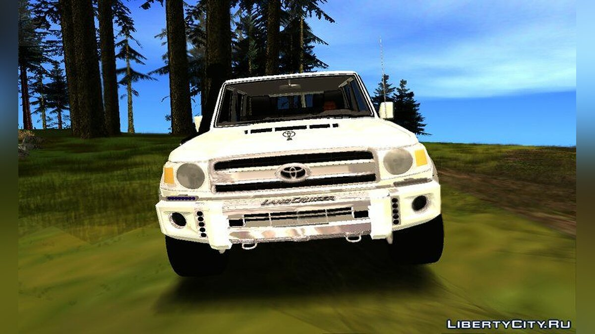 Toyota car Toyota Land Cruiser Lc76 for GTA San Andreas