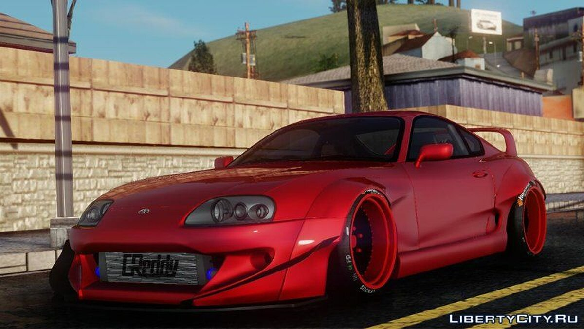 Toyota car Toyota Supra Rocket Bunny for GTA San Andreas