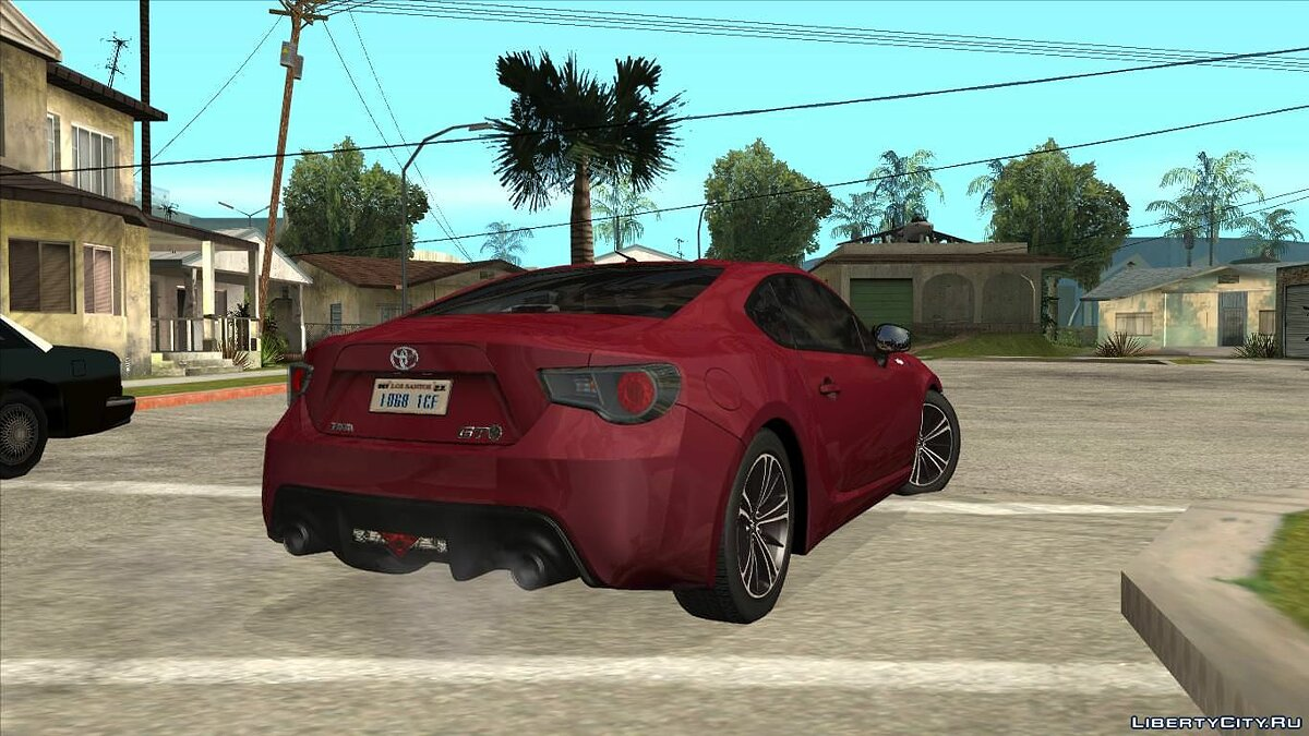 Toyota car Toyota GT86 HQ for GTA San Andreas