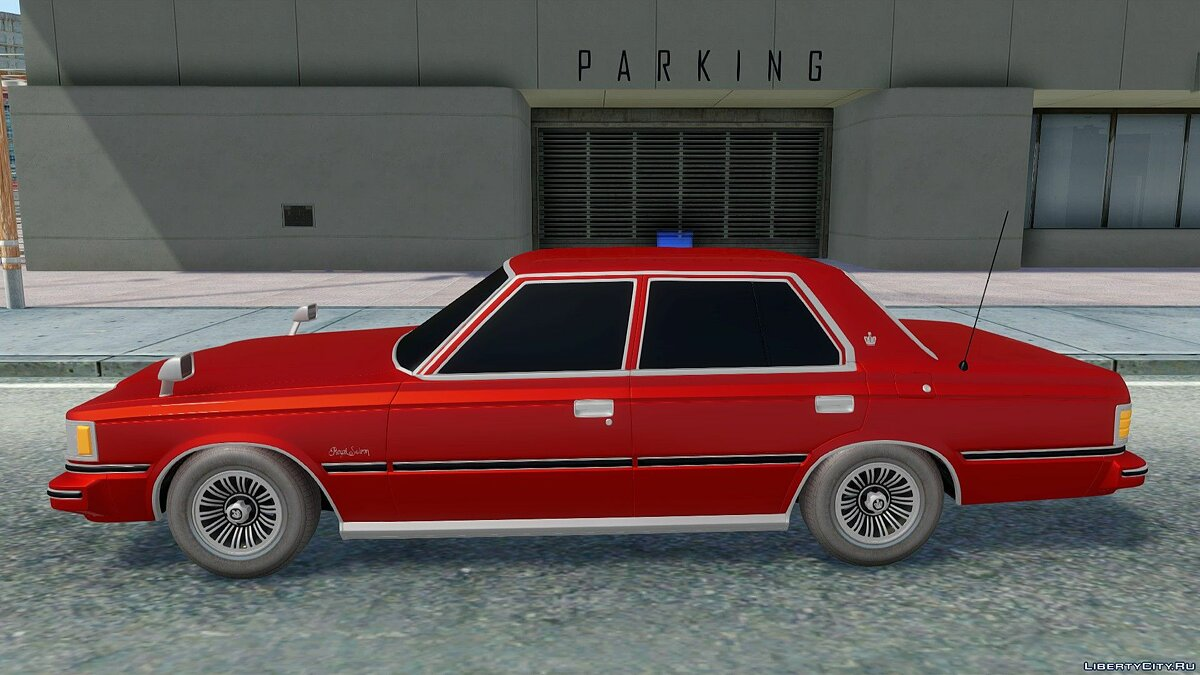 Toyota car Toyota Crown S110 for GTA San Andreas