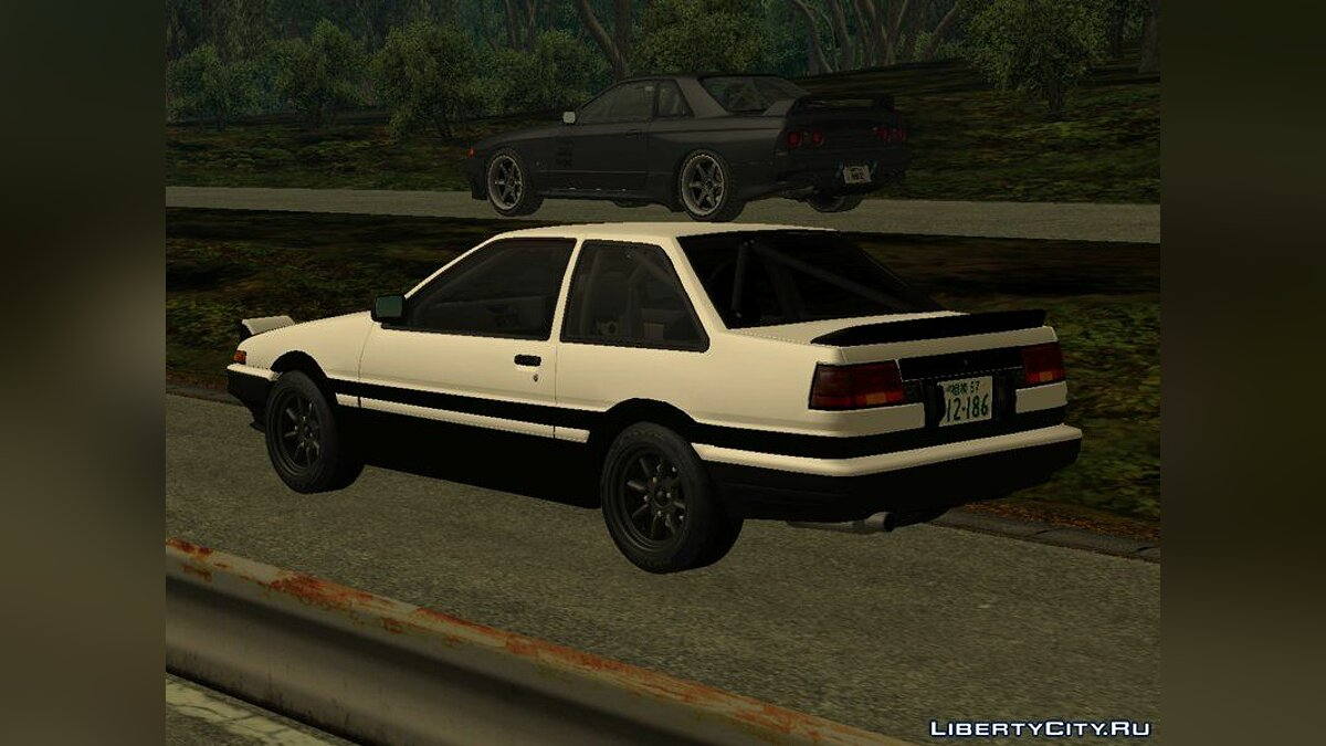 Toyota car Initial D Final Stage Shinji Inui Toyota Sprinter Trueno AE86 Coupe for GTA San Andreas