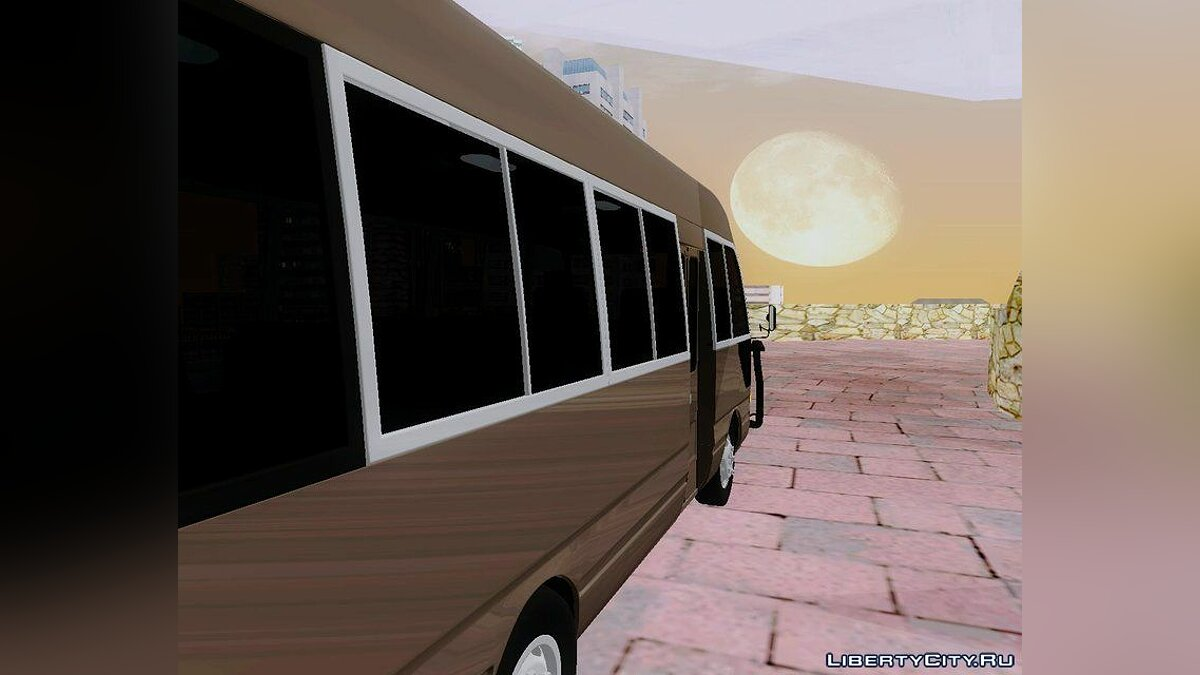 Toyota car Toyota Coaster G3 for GTA San Andreas