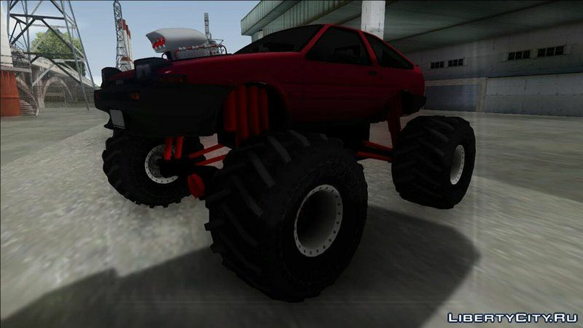 Toyota car Toyota Corolla GT-S Monster Truck for GTA San Andreas