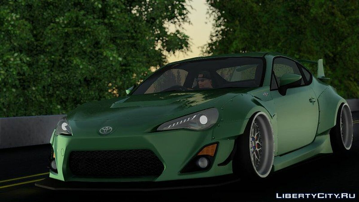Toyota car Toyota GT86 Rocket Bunny V1 for GTA San Andreas