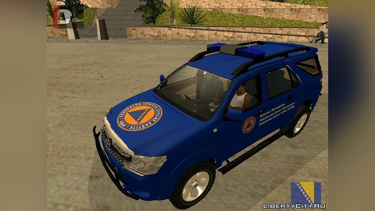 Toyota car Toyota Fortuner for GTA San Andreas