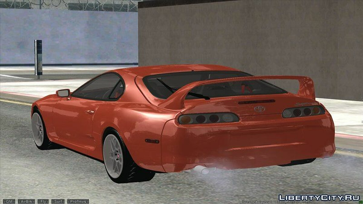 Toyota car Toyota Supra Mk4 for GTA San Andreas