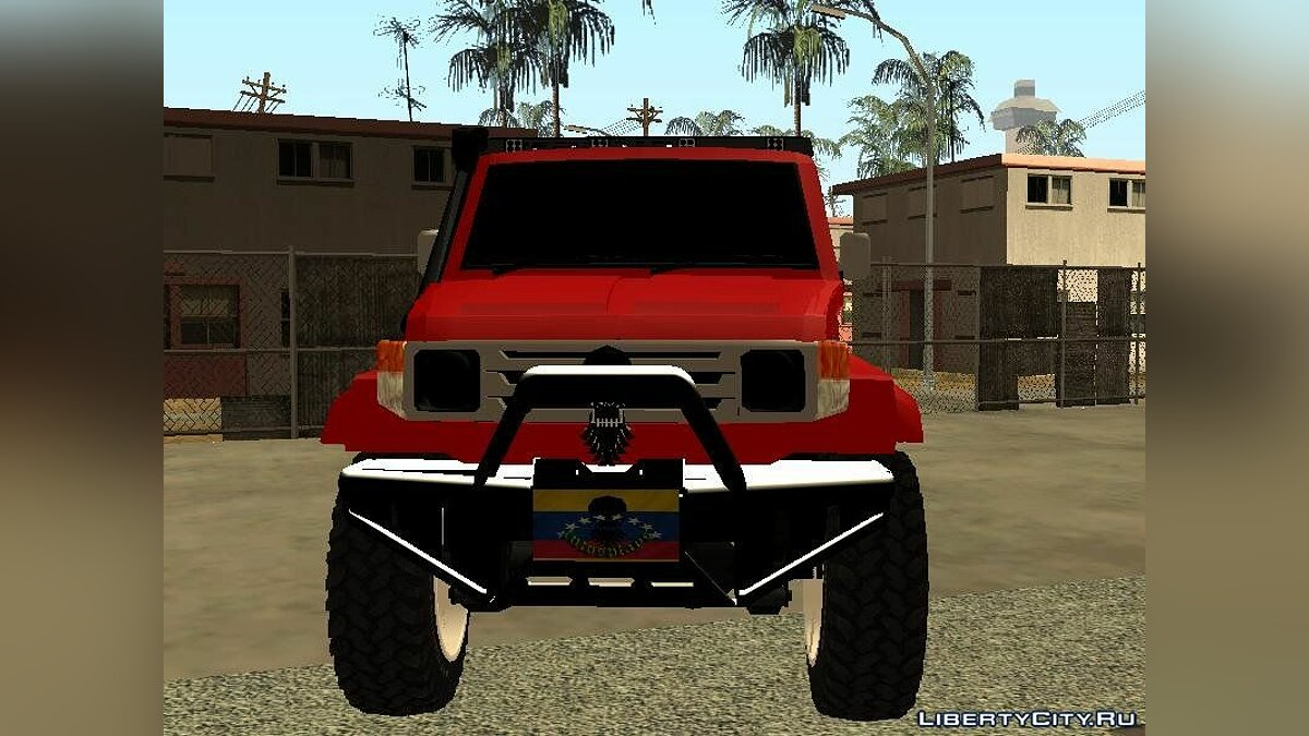 Toyota car Toyota Machito4x4 Off-Road for GTA San Andreas
