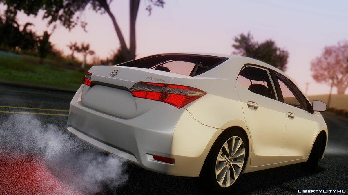 Toyota car Toyota Corolla 2016 for GTA San Andreas