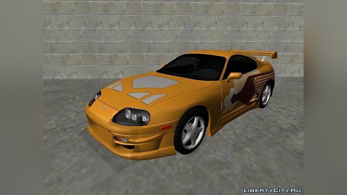 Toyota car Toyota Supra Mk-IV 1994 Fully Tunable (FNF style) v1.0 for GTA San Andreas