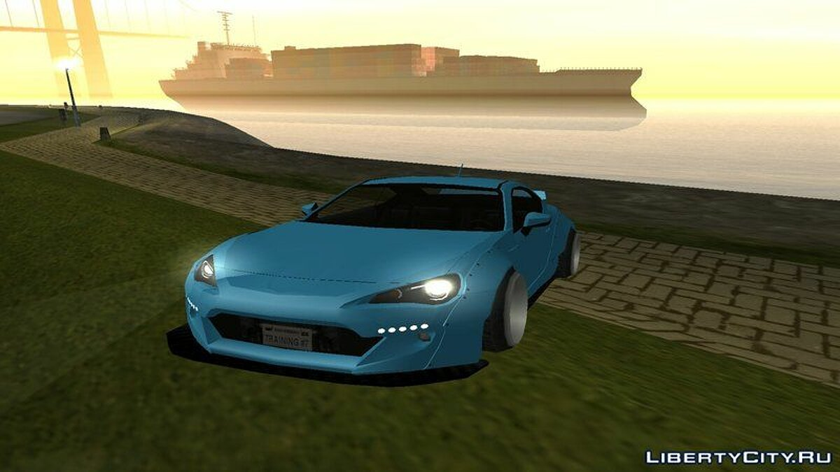 Toyota car Toyota GT86 Rocket Bunny for GTA San Andreas