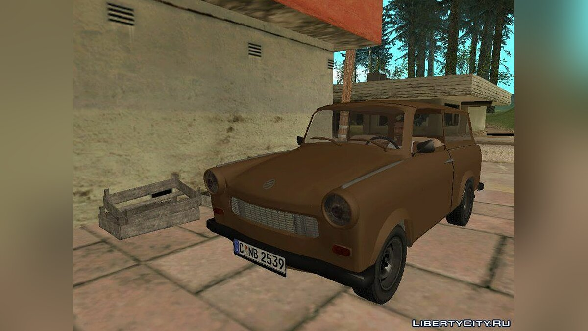 Trabant car Trabant 601 Kombi for GTA San Andreas