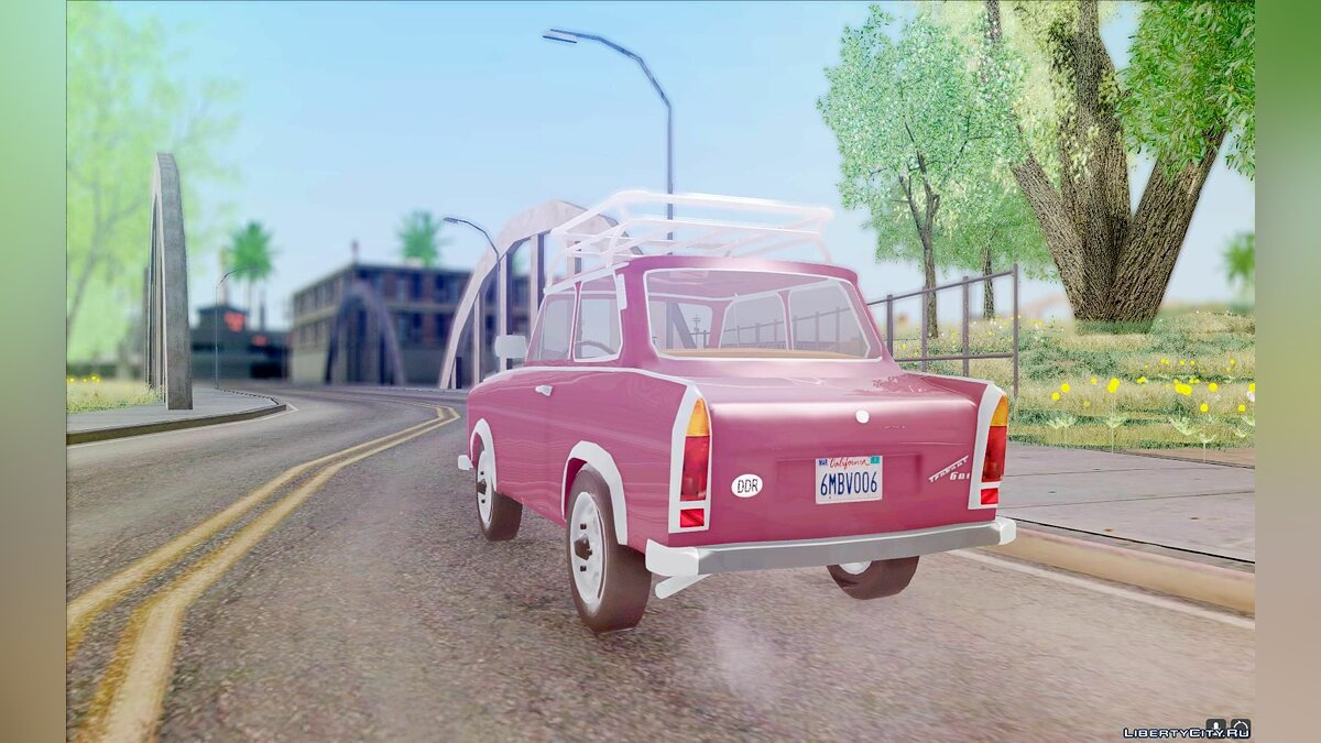 Trabant car Trabant 601 for GTA San Andreas