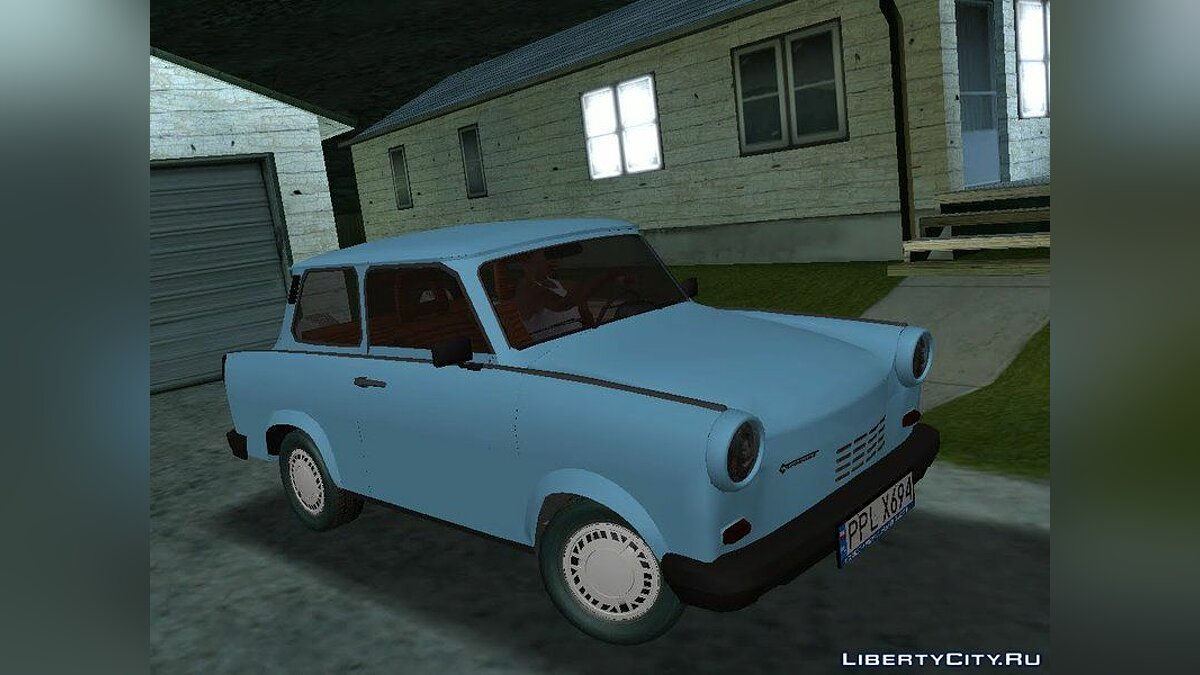 Trabant car Trabant 1990 1.1 for GTA San Andreas