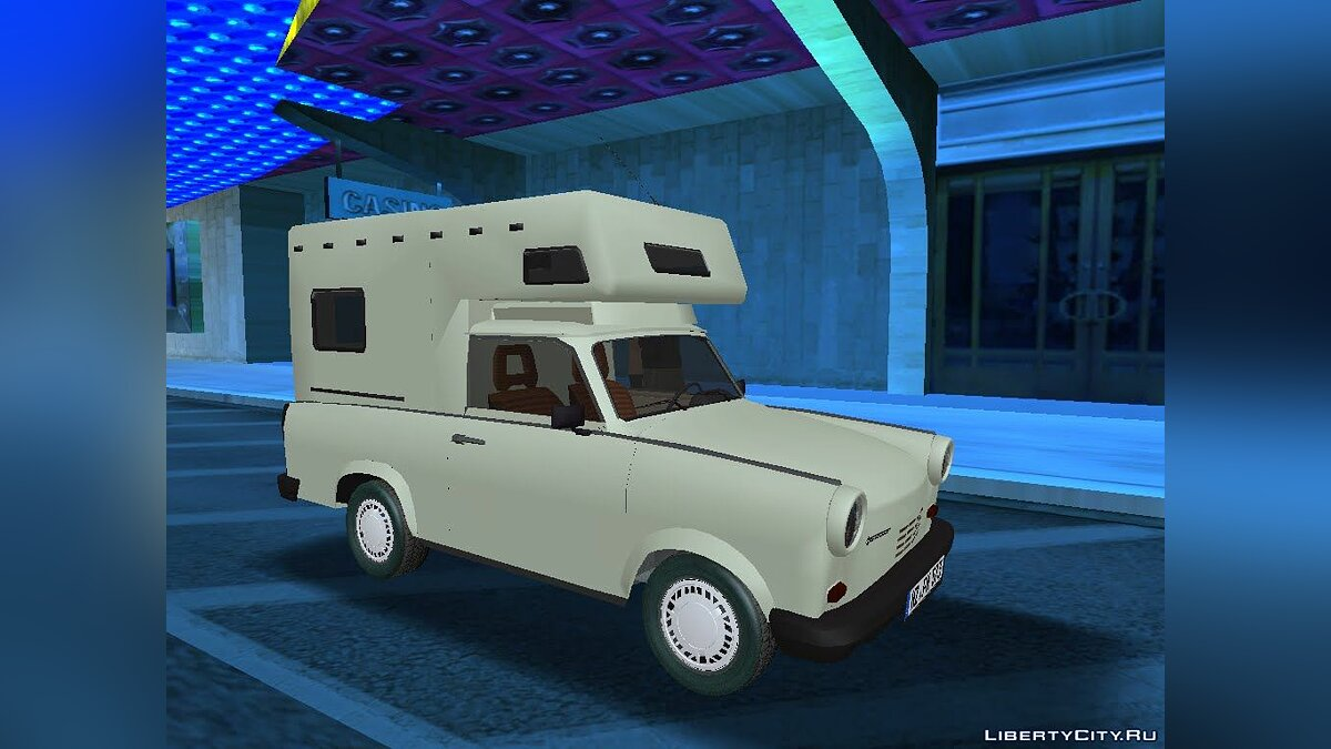 Trabant car Trabant Wohnmobil 1.1 for GTA San Andreas