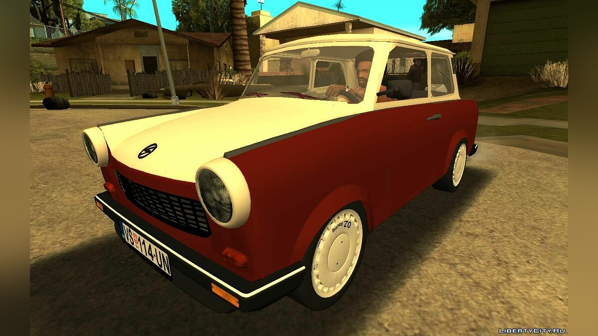 Trabant car Trabant 601 Sport for GTA San Andreas