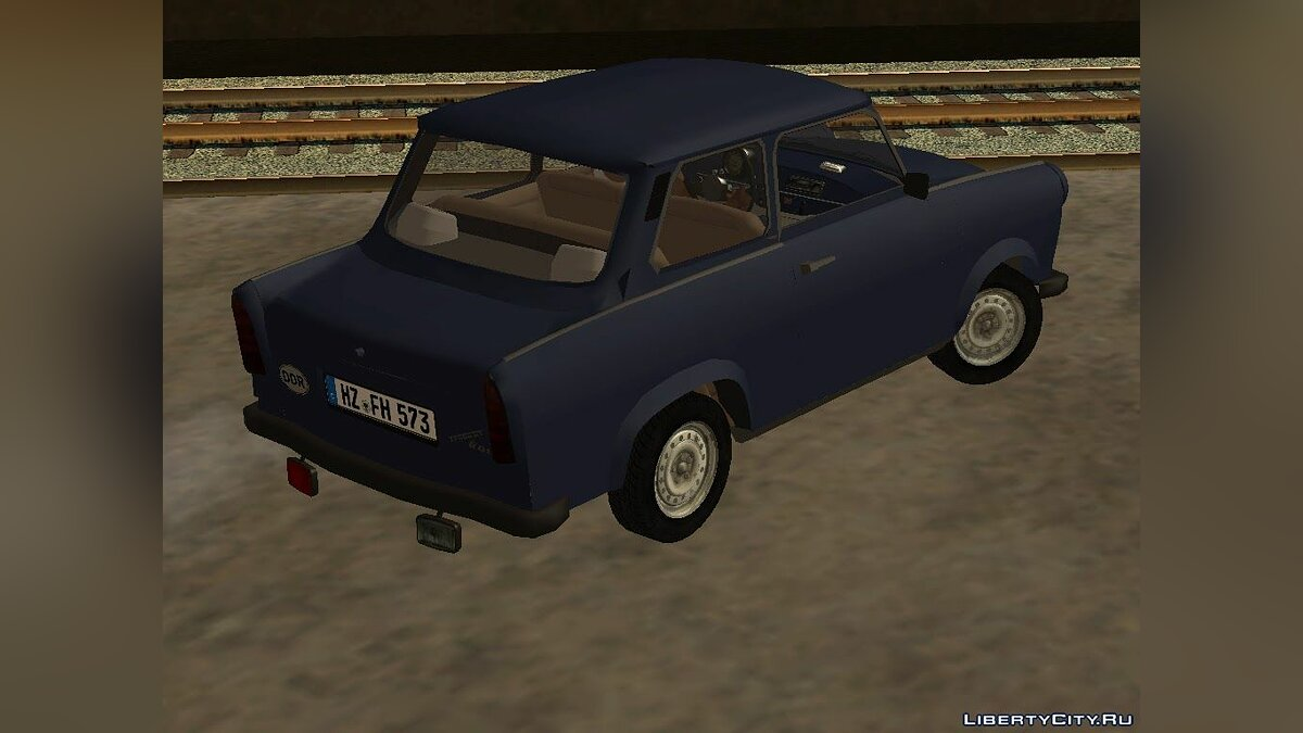 Trabant car Trabant 601 Stock for GTA San Andreas