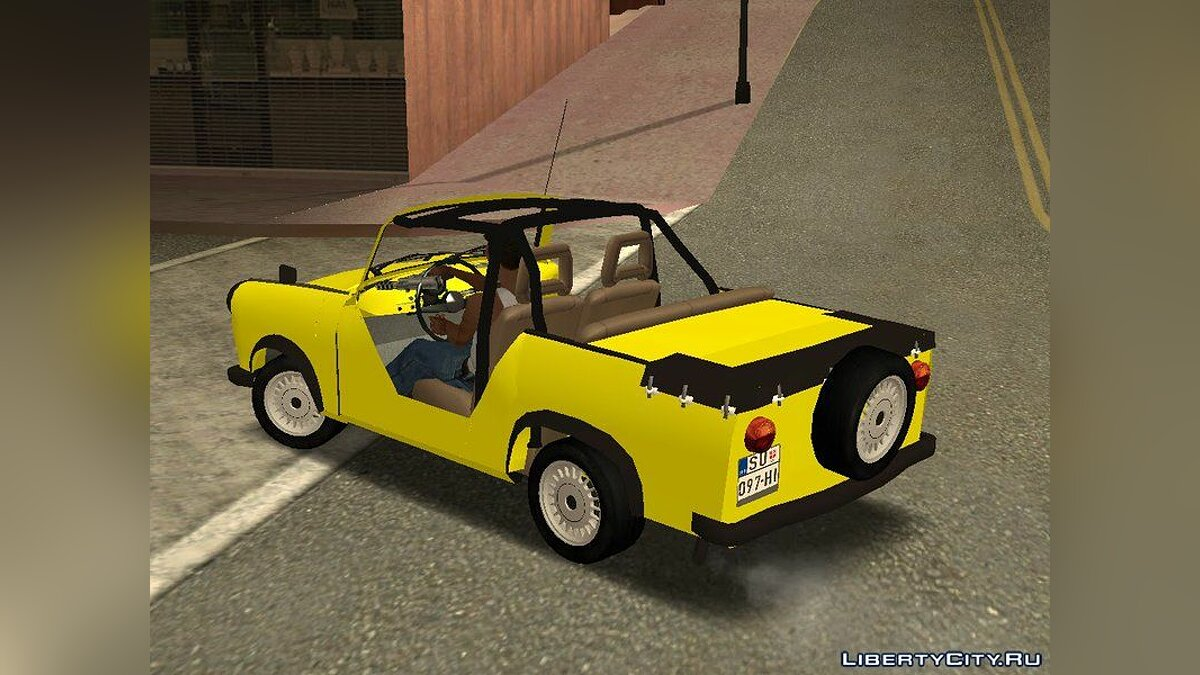 Trabant car Trabant 601 Kübelwagen for GTA San Andreas