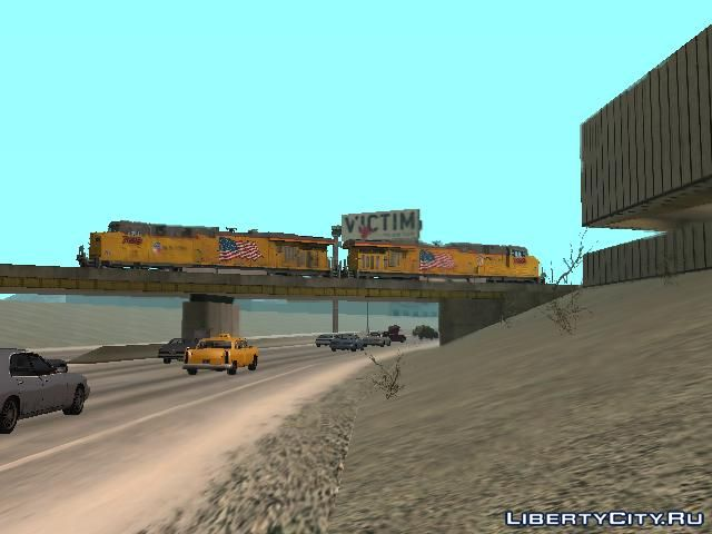 GE ES44AC Freight Union Pacific V3 0 for GTA San Andreas