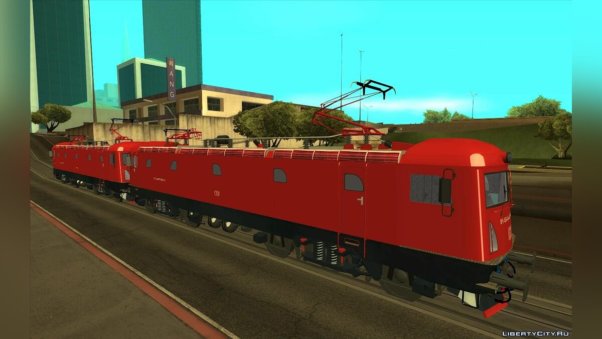 Train and tram Phoenix 478-001 DB Cargo for GTA San Andreas