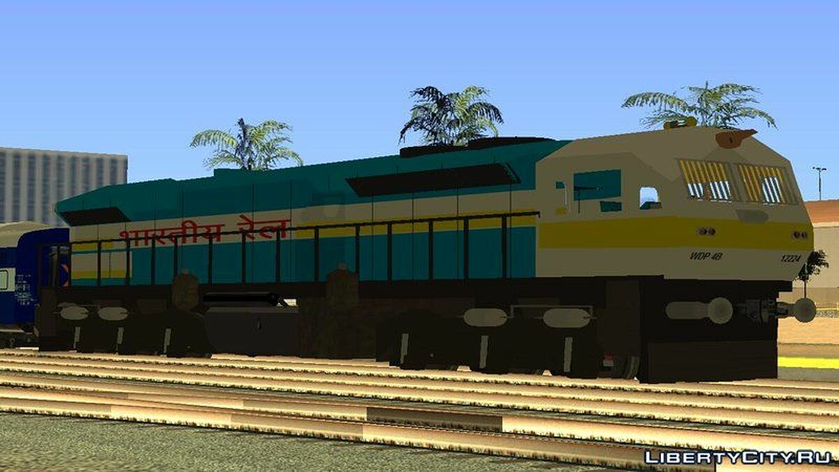 Train and tram WDP 4 for GTA San Andreas