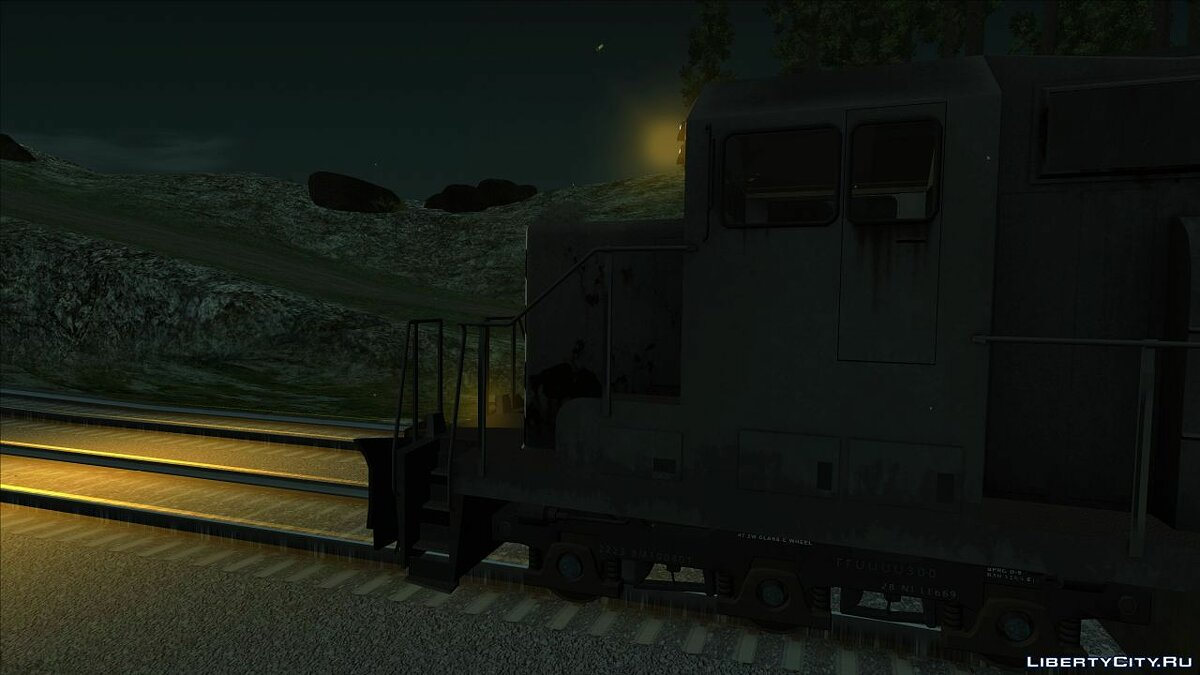 Train and tram HD Freight Train - Walter's Freight for GTA San Andreas