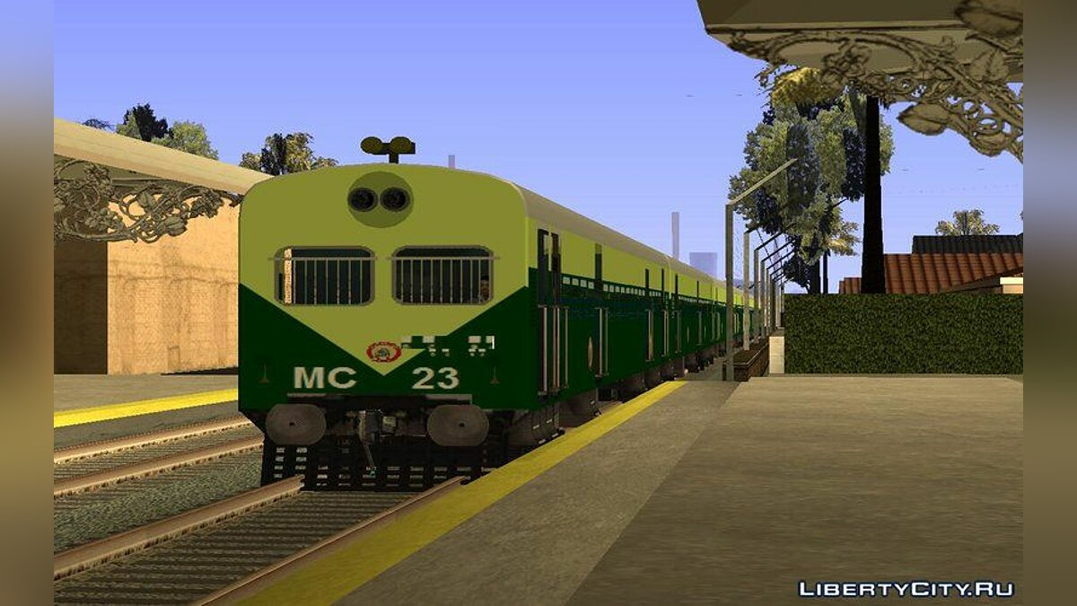 Train and tram Train - Locoless Local for GTA San Andreas