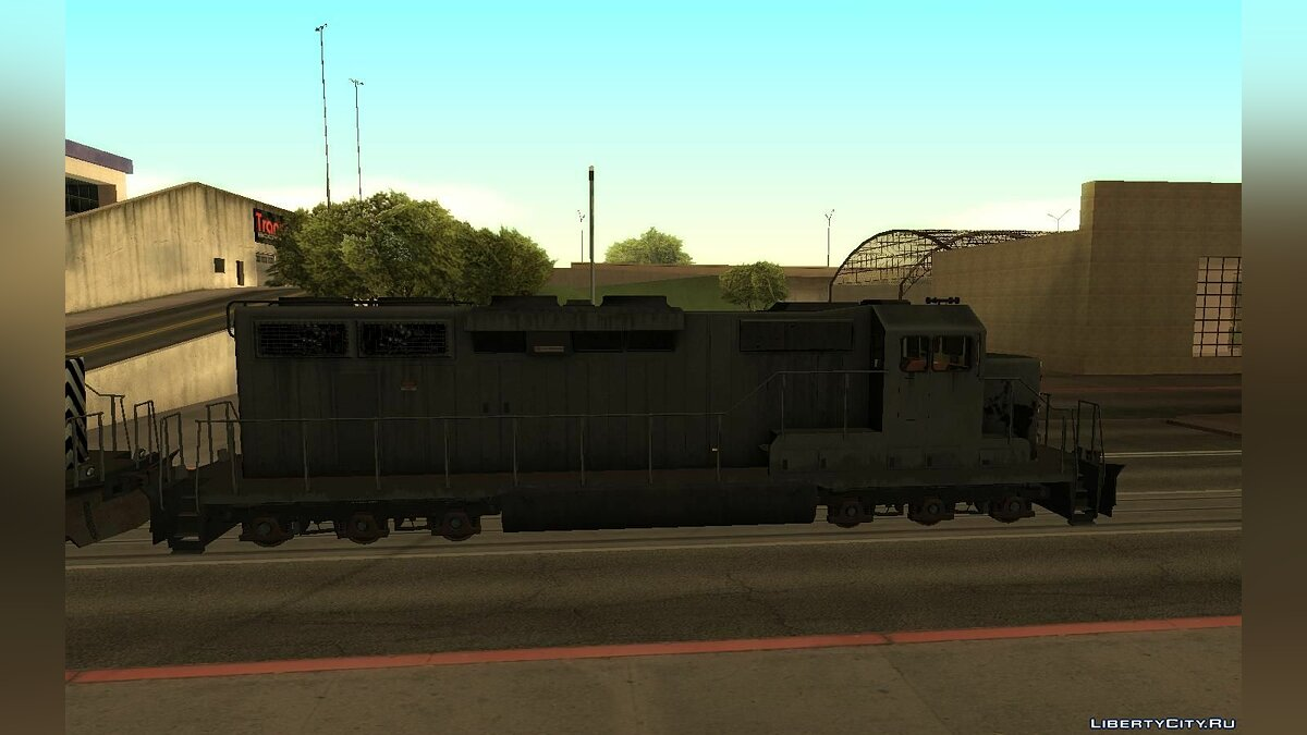 Train and tram Remastering Walter's Freight in HD for GTA San Andreas
