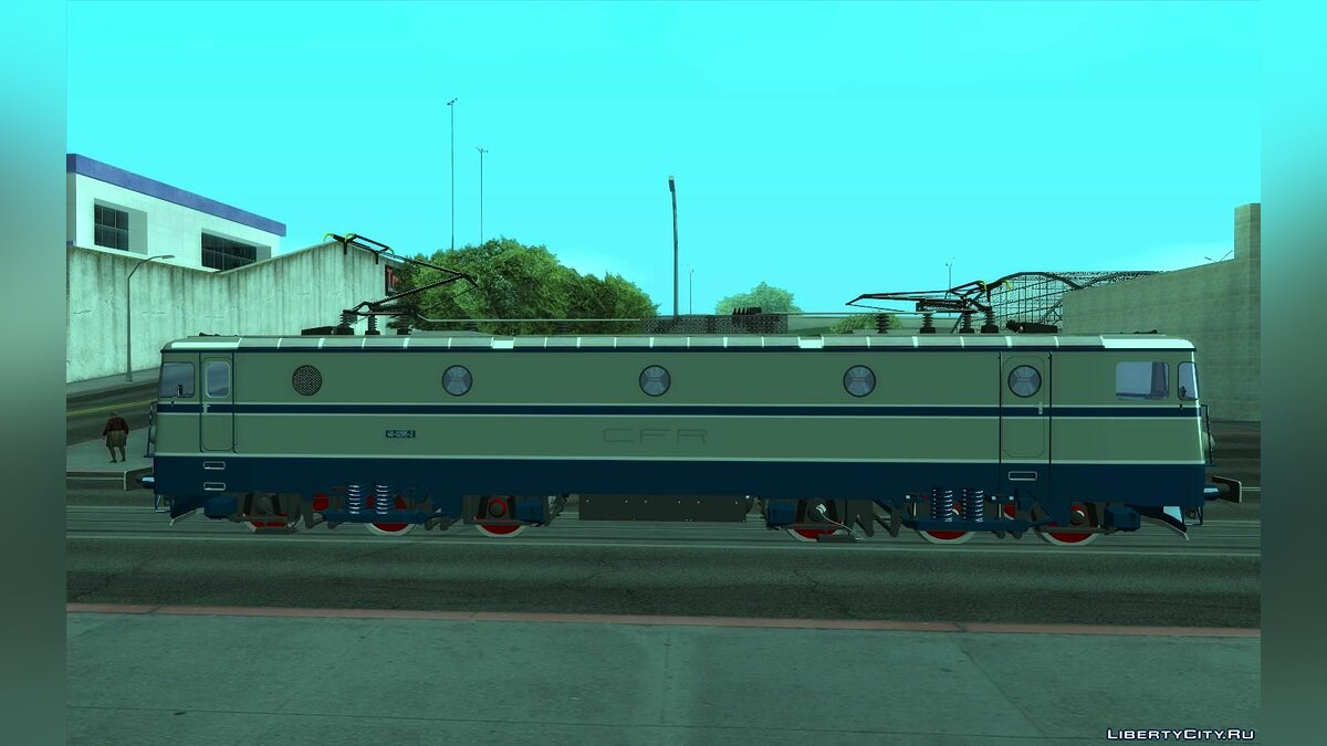 Train and tram 060-EA 40-0295-2 CFR Calatori for GTA San Andreas