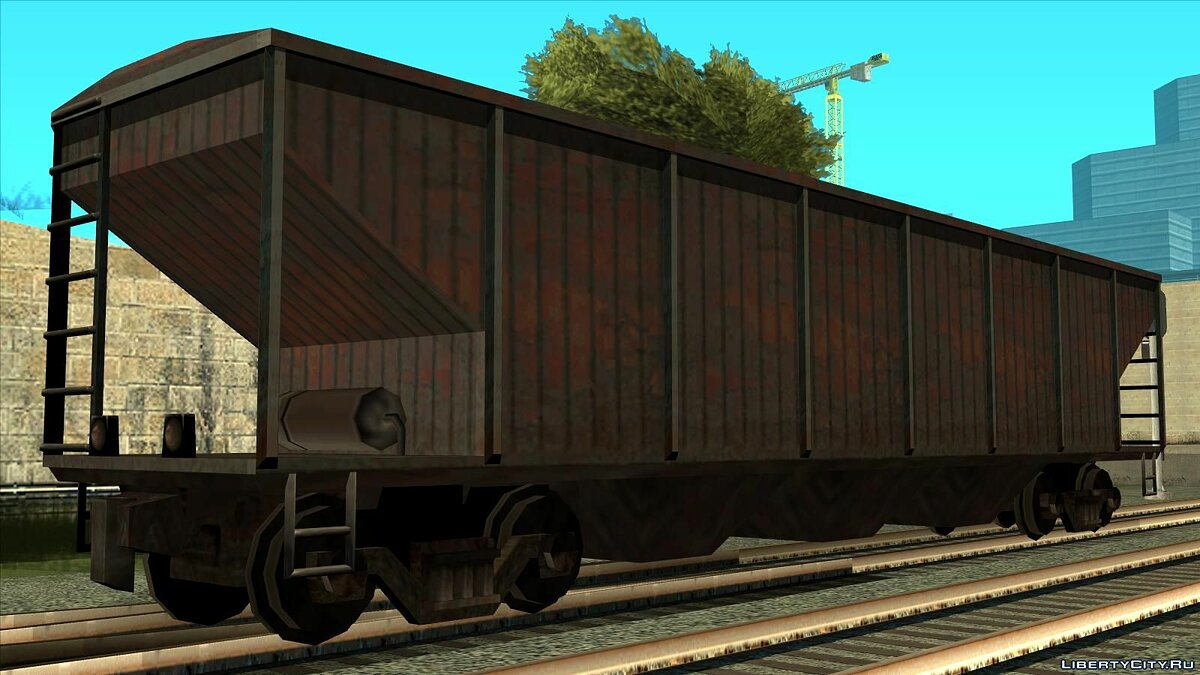 Train and tram Freight train for GTA San Andreas