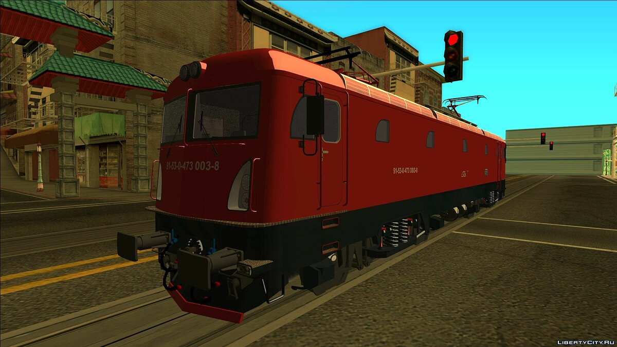 Train and tram Phoenix 473-003 CFR Calatori for GTA San Andreas