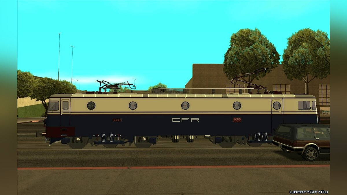 Train and tram 060-EA 40-0010-5 CFR Infrastructura for GTA San Andreas