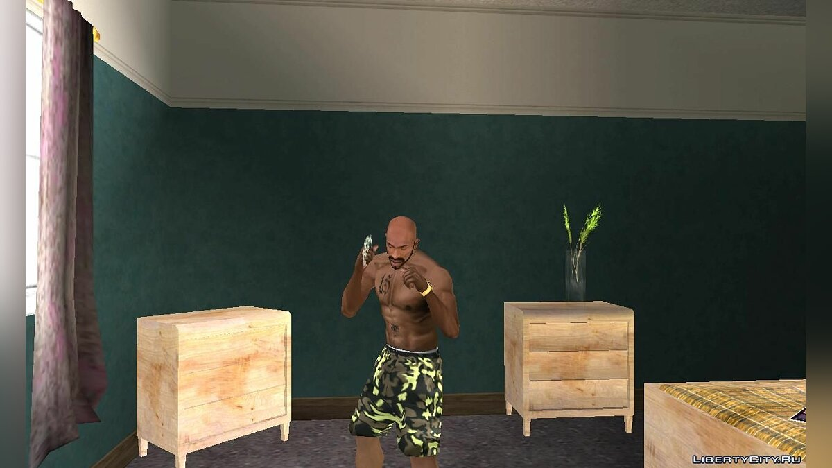 Pants and shorts Camouflage Shorts for GTA San Andreas