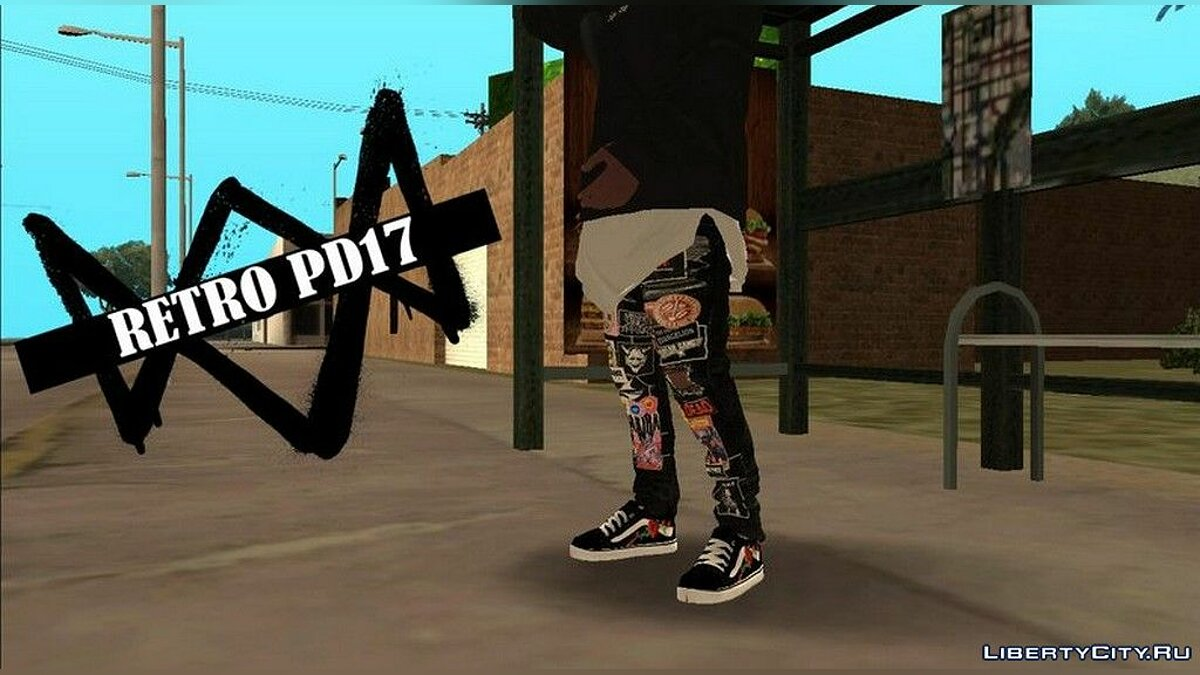 Pants and shorts Jaden Smith Pants for Franklin for GTA San Andreas