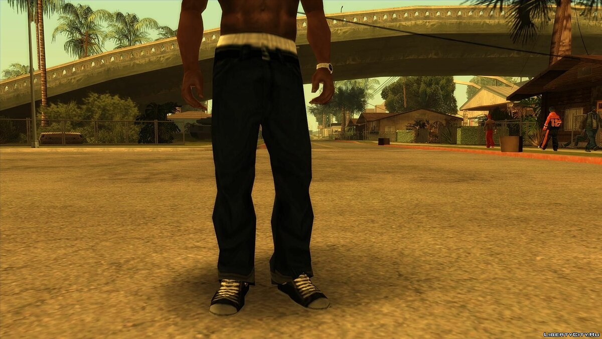 Pants and shorts Sweet's jeans for GTA San Andreas