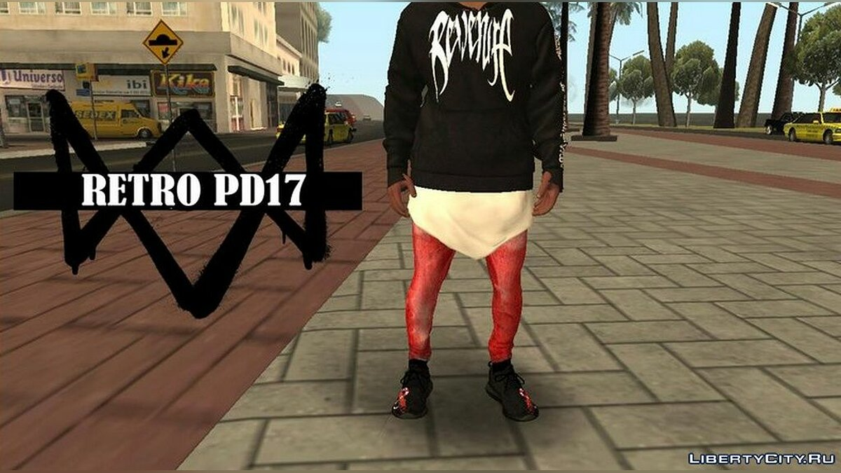 Pants and shorts Collection of tight pants for Franklin for GTA San Andreas