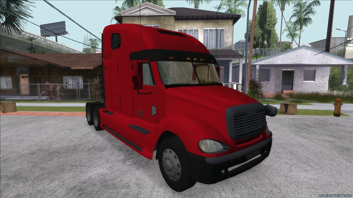 Truck Freightliner columbia for GTA San Andreas