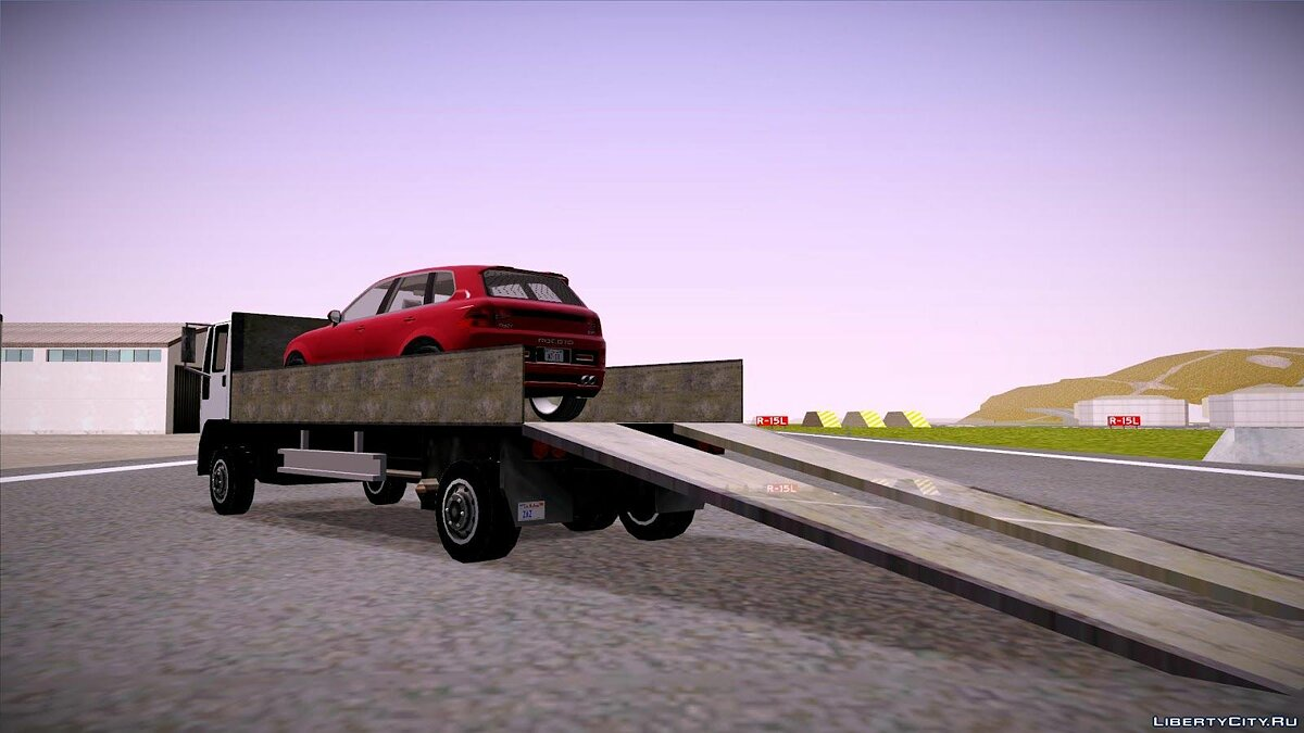 Truck Car carrier DFT-30 for GTA San Andreas